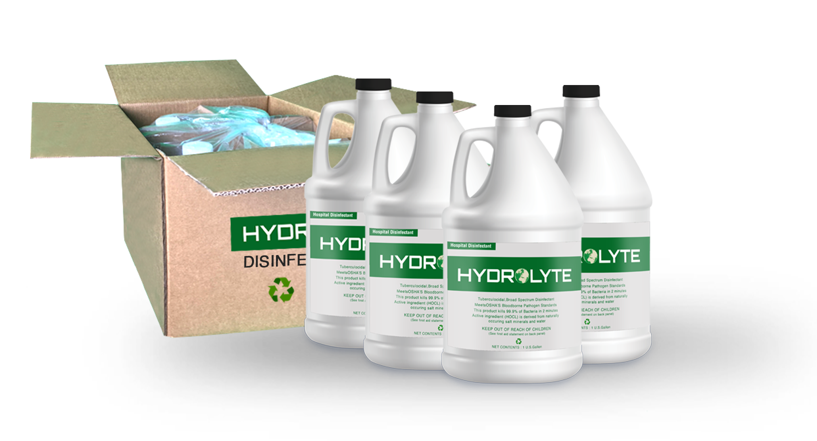 Hydrolyte Disinfectant 4 Gallon Pack