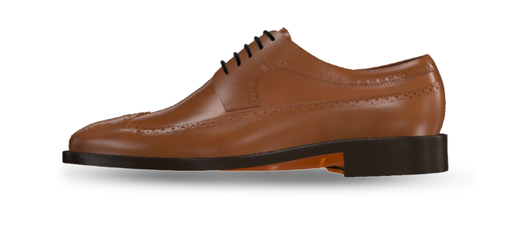 Longwing Blucher Men's Dress Shoe