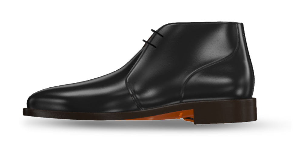 Leather Chukka Men's Dress Boot