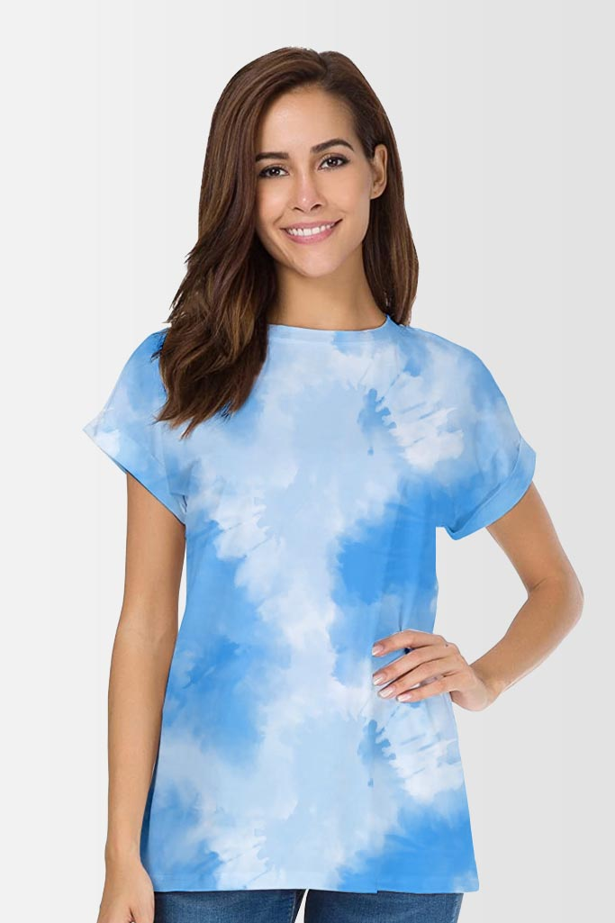 Farrah Blueberry Boyfriend T-shirt