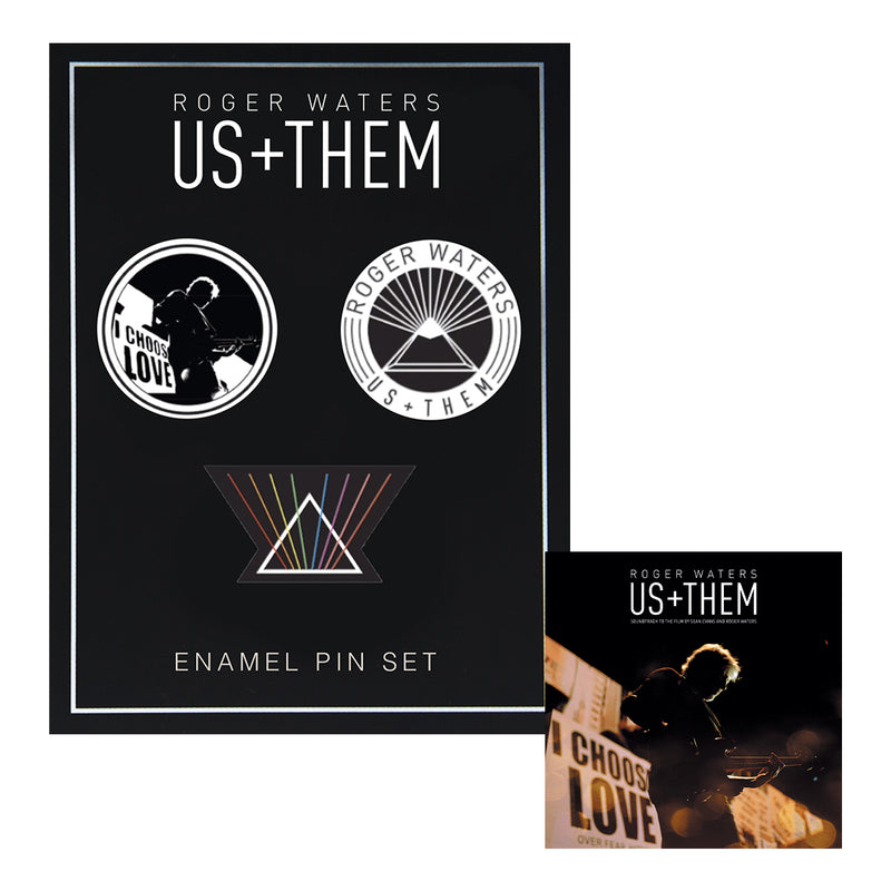 Us + Them + Enamel Pin Set