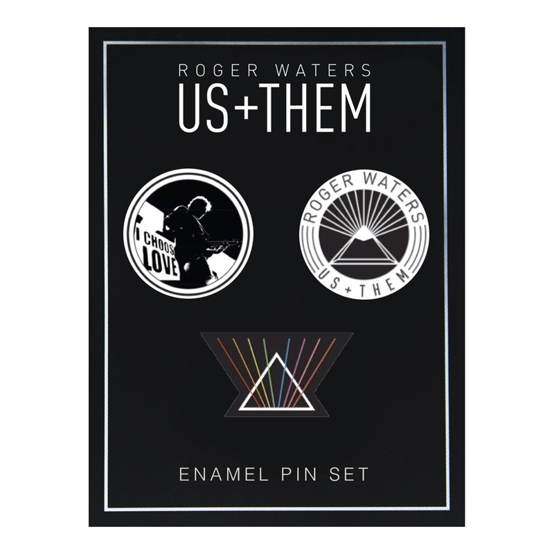 Us + Them Enamel Pin Set