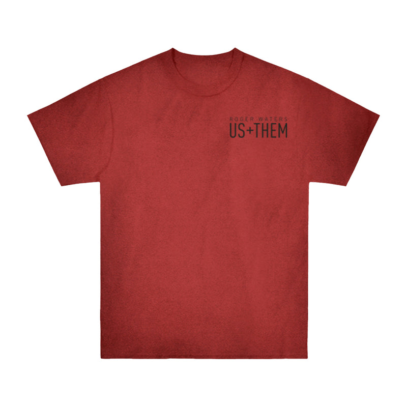 Us + Them Red Dye Tee