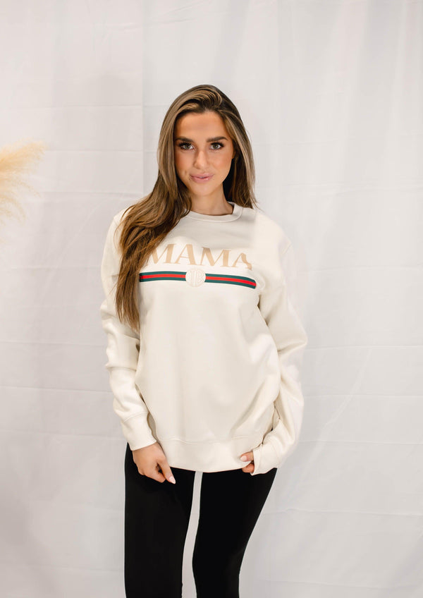 TRENDY MAMA GRAPHIC SWEATSHIRT