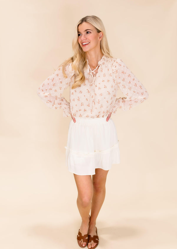 SUMMER TIME FEELINGS SKORT | CREAM