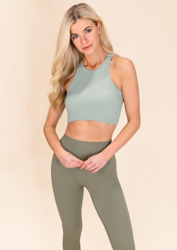 MOVE YOUR BODY CROP TOP | MOSS