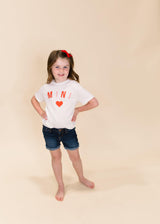 MINI HEART GRAPHIC TEE | TODDLER AND YOUTH