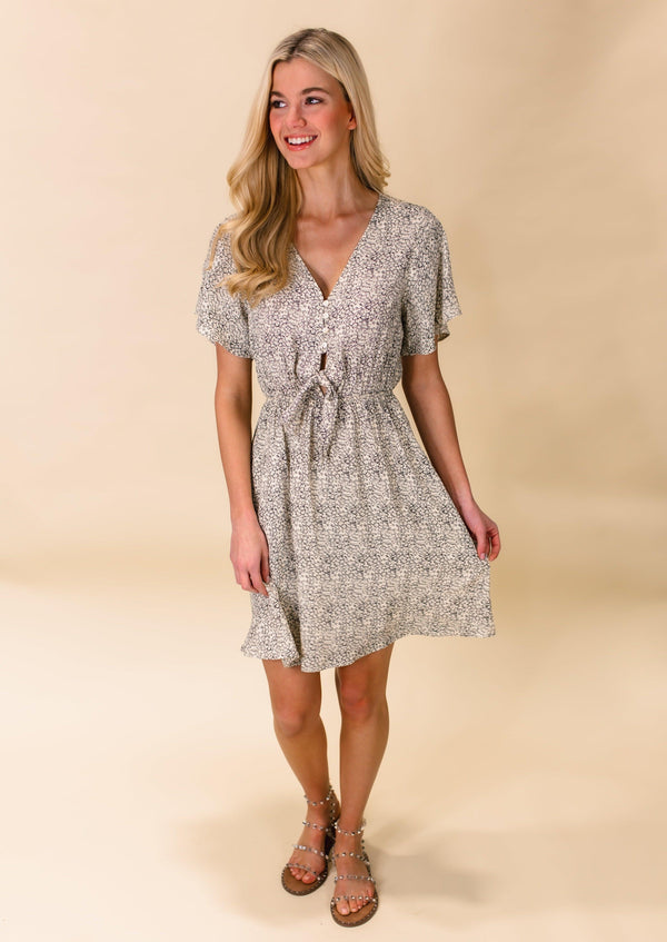 SO CHIC SPOTTED DRESS