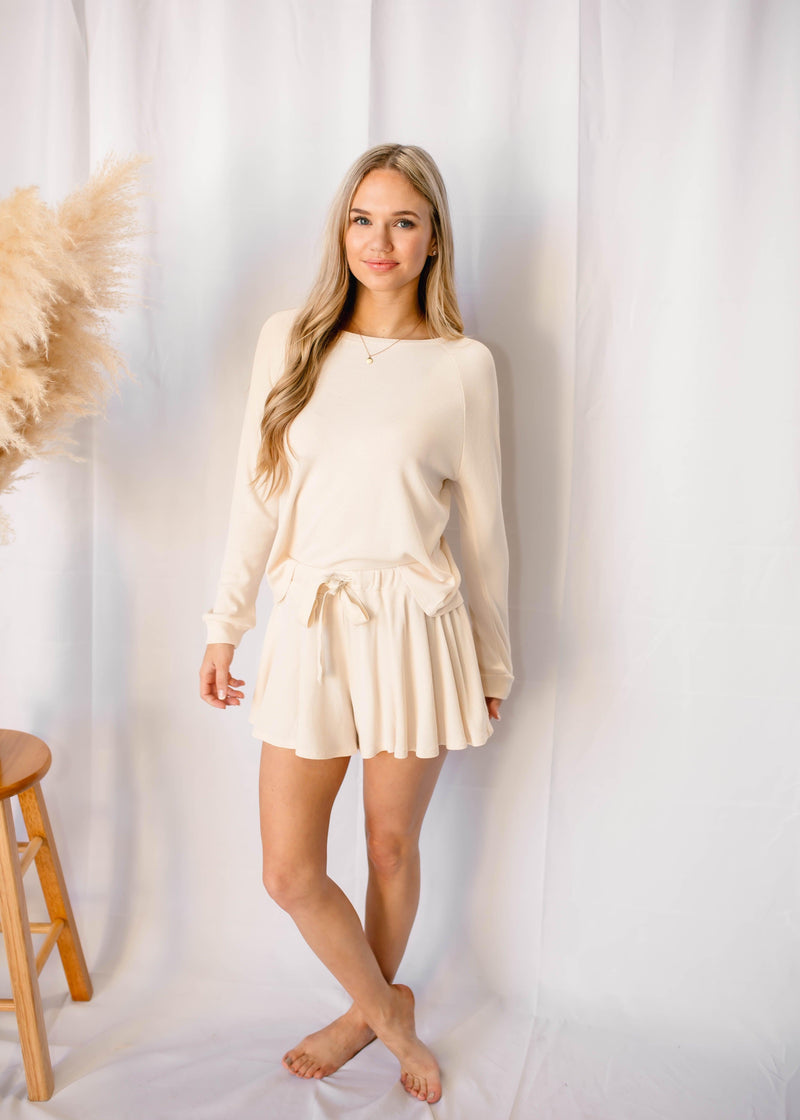 MAGIC AT MIDNIGHT THERMAL LOUNGE SET | CREAM