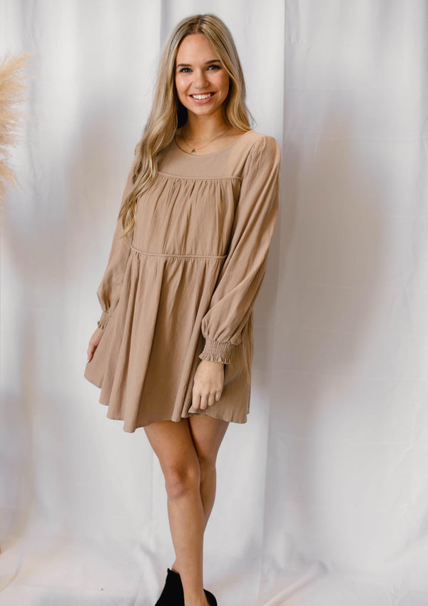 SO OBSESSED DRESS | MOCHA