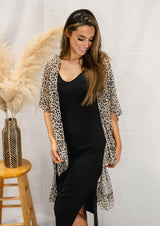 MADE YOU LOOK LEOPARD KIMONO | ONE SIZE