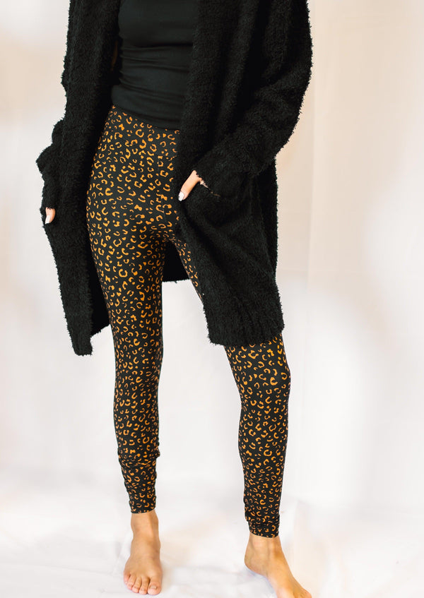 LOVELY LEOPARD LEGGINGS