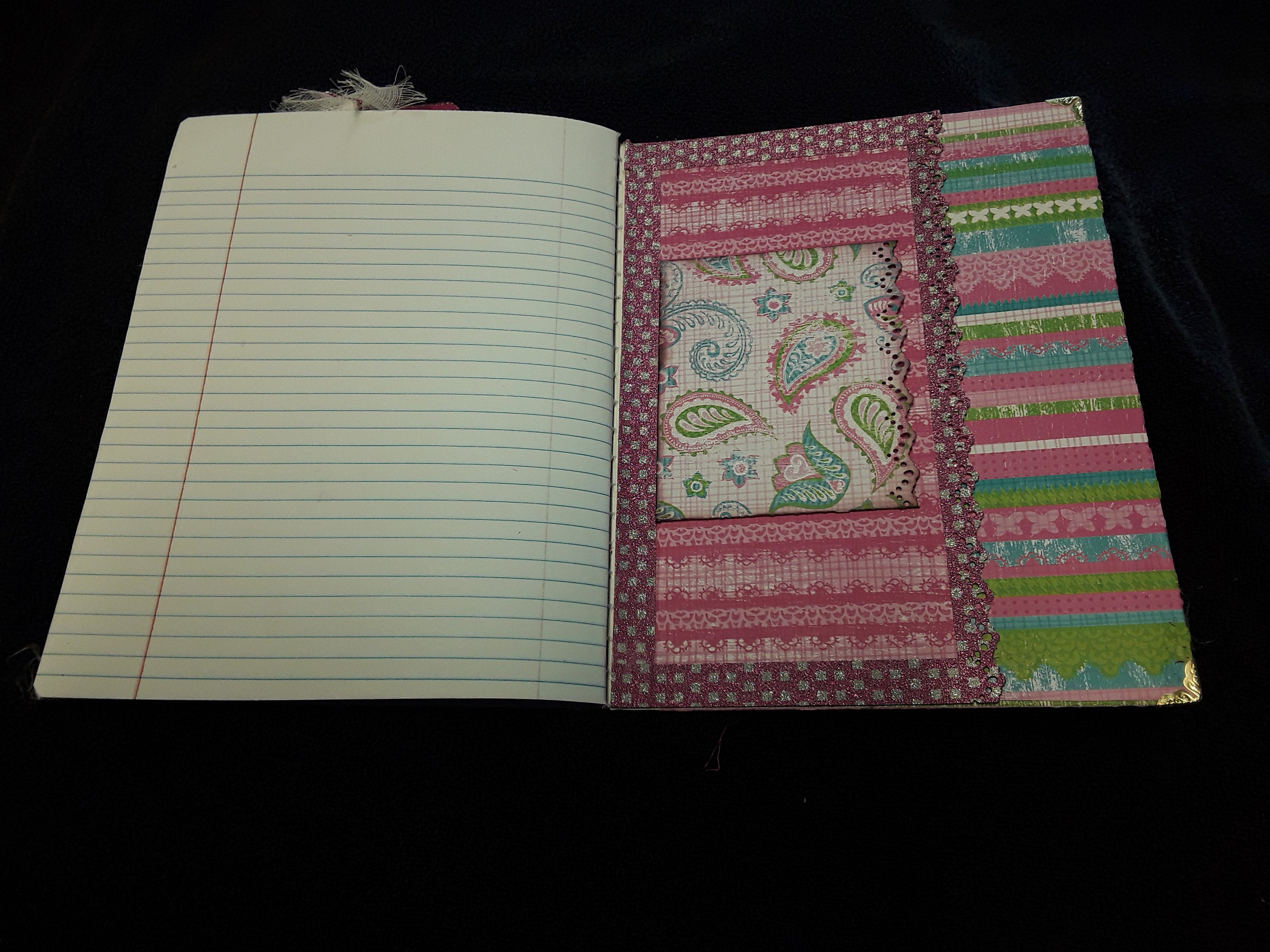 Pretty Princess Butterfly Journal