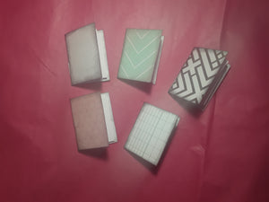Five Small Notebooks for Junk Journals