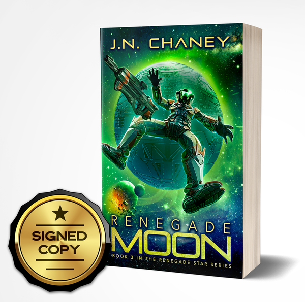 Signed Copy of Renegade Moon: Renegade Star Series Book 3