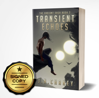 Signed Copy of Transient Echoes: Variant Saga Book 2