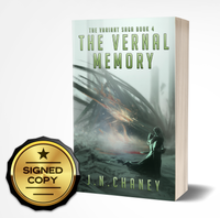 Signed Copy of The Vernal Memory: Variant Saga Book 4