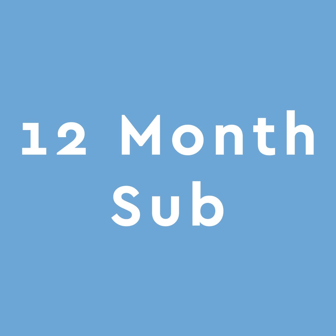 Crafty - 12 Month Subscription