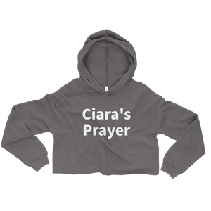 Ciara's Prayer Cropped Hoodie Sweatshirt