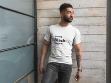 Load image into Gallery viewer, Young Black Vegan Men's Athletic Fit T-shirt