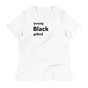 Young Black Gifted Women's T-Shirt