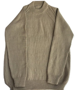 Apparel & Accessories Clothing Outerwear - Woolen  pullover  round neck  for Men  - 100 % Wool