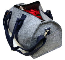 Load image into Gallery viewer, Duffel Bag for Travel / Gym / Active Sports - 100% Organic Wool