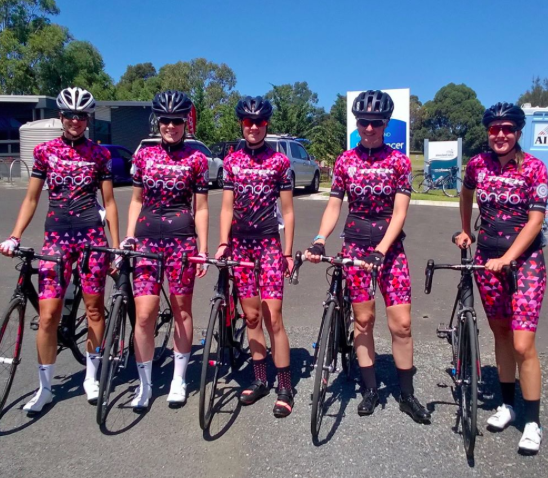Follow our women's race team, Trek Fondo