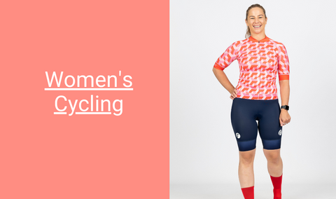 Fondo women's cycling collection of cycling bibs, cycling jerseys, cycling shorts and cycling baselayers and accessories