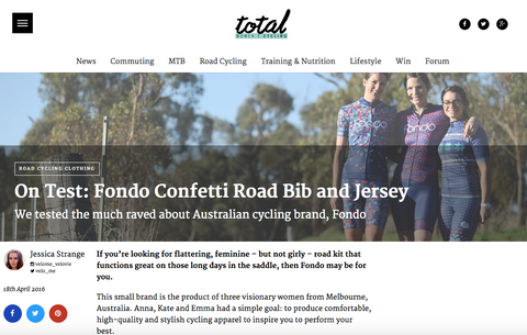 Fondo cycling kit review by Total Women's Cycling