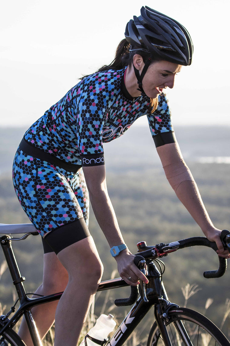 Women's Cycling Jersey - Honey