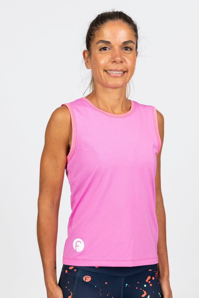 mesh running singlet or cycling baselayer high wicking