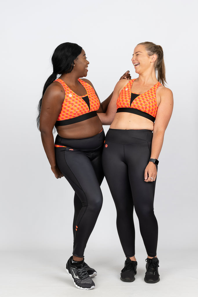 High Support sports bra and high waist leggings with pocket