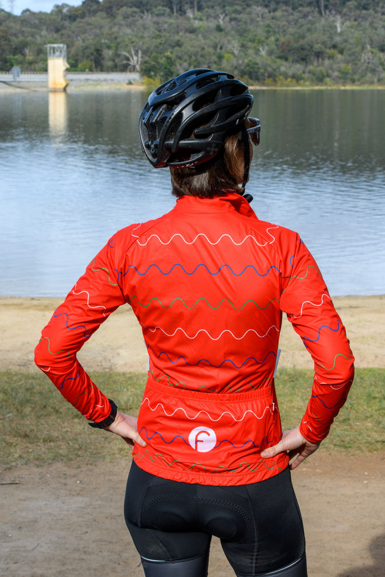 Women's Cycling Packable Jacket - Wind & Water