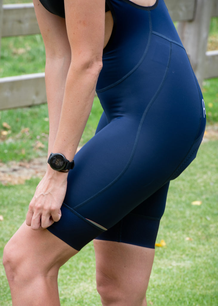 Women's Cycling Bibs - Navy