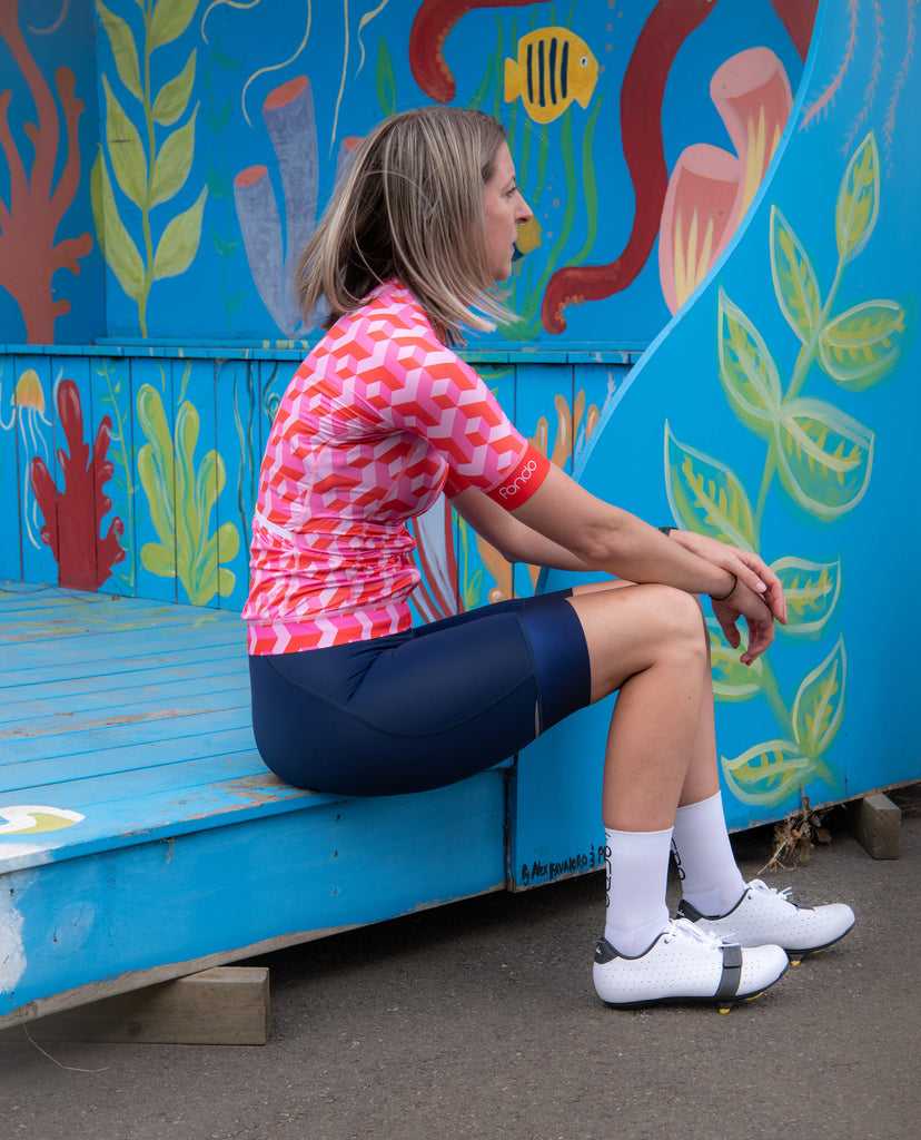 Women's Cycling Jersey - Bubblegum