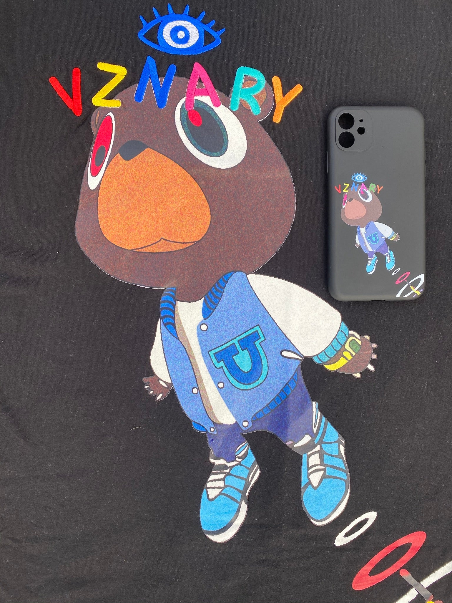 VZNARY X GRADUATION BEAR Phone Case