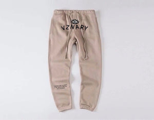 Sandstone VZNARY Logo Sweatpants
