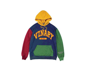 """Midnight Train"" VZNARY Colorblock Hoodie"