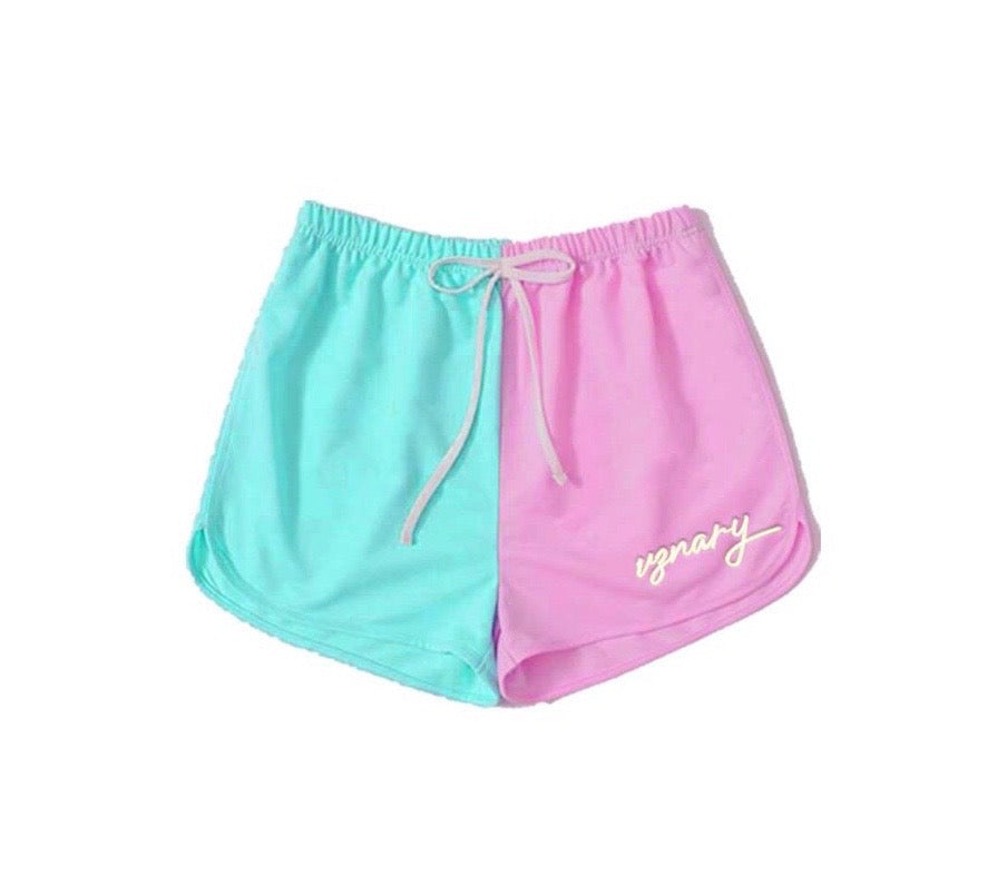 VZNARY Colorblock Shorts