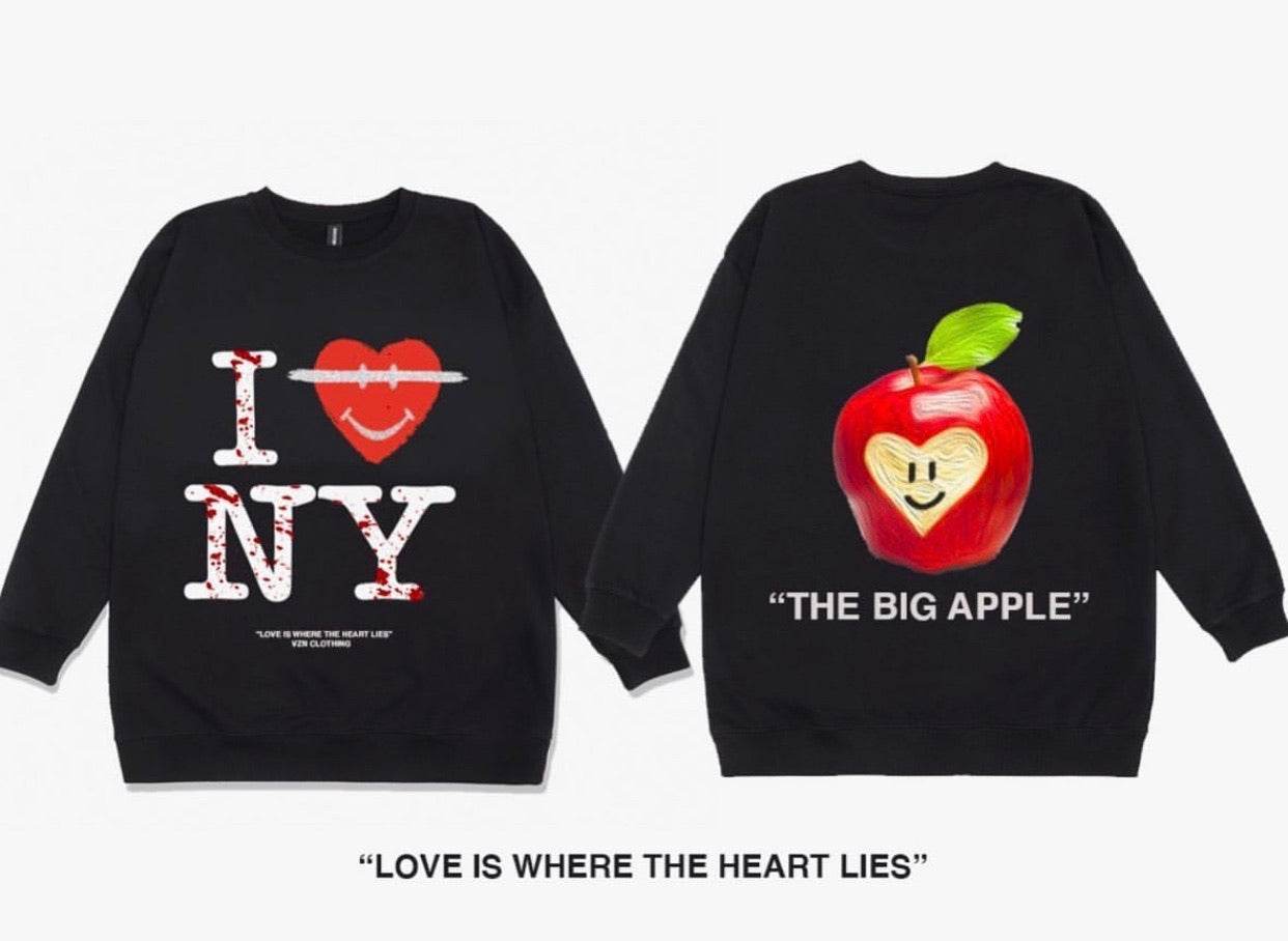 """I Heart New York"" Crewneck"