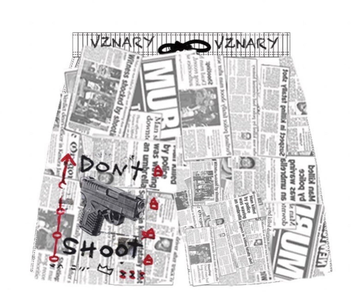 """Don't Shoot"" Shorts"