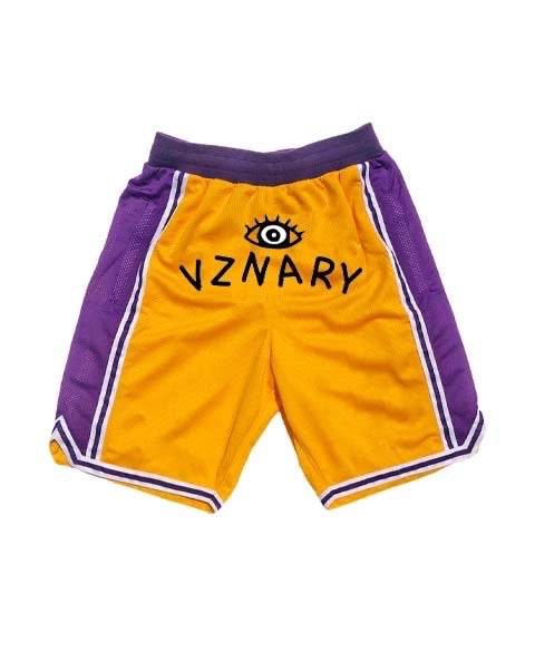"""Lake Show"" VZNARY Logo Shorts"
