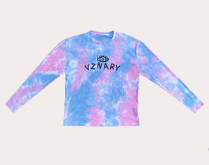 VZNARY 'Cotton Candy' Tie Dye Longsleeve