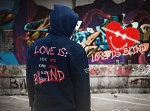 """What is Love?"" Black Hoodie"