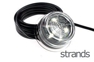 STRANDS - VIKING LED ZIJMARKERINGSLAMPEN - WIT