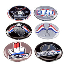 THE HOLLAND STYLE 6 SET - 3D DELUXE FULL PRINT STICKER