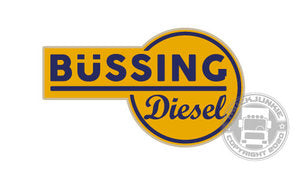 BÜSSING DIESEL - FULL PRINT STICKER