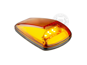 LED LIGHT TOP / MARK LAMP - 9-32V - Oranje Glas