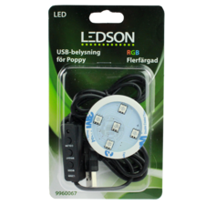 LEDSON - POPPY LED - RGB - USB AANSLUITING -12-30V